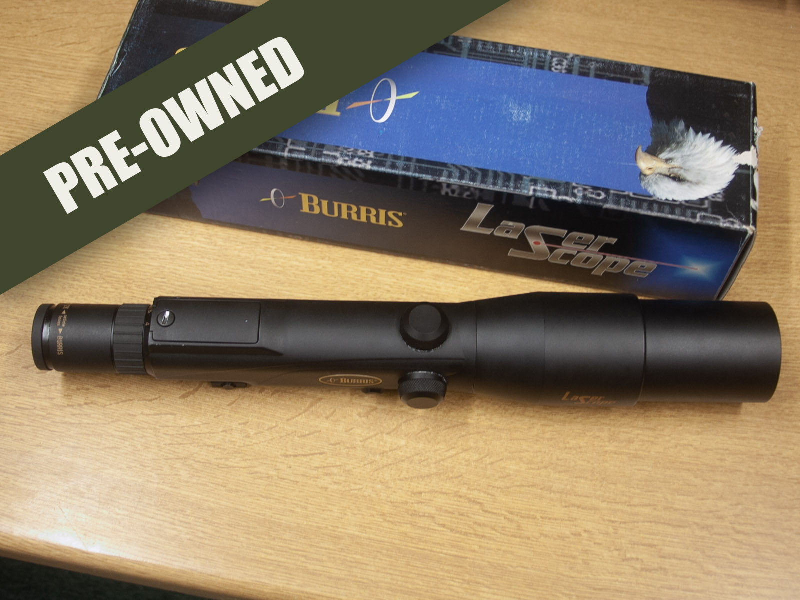 Burris Balistic Laserscope 4-12 X 42 - Pre-owned