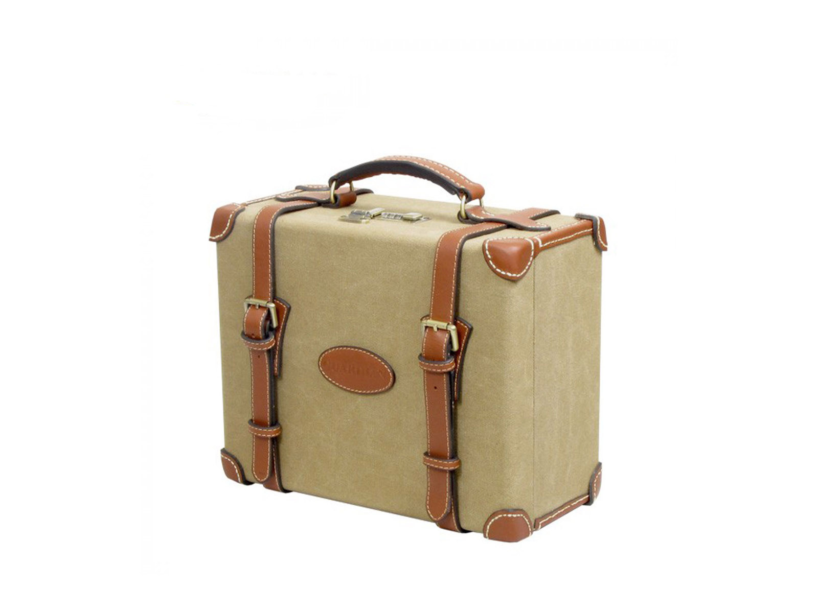 Guardian Heritage Canvas and Leather Loaders Case