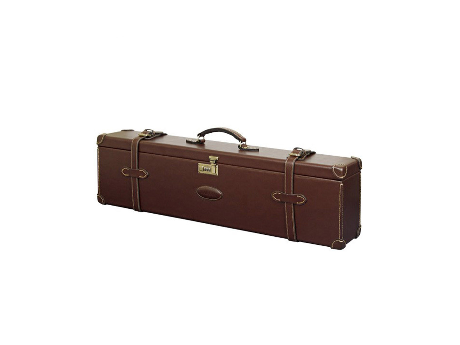 Guardian Chestnut Leather Double Motor Case O/U
