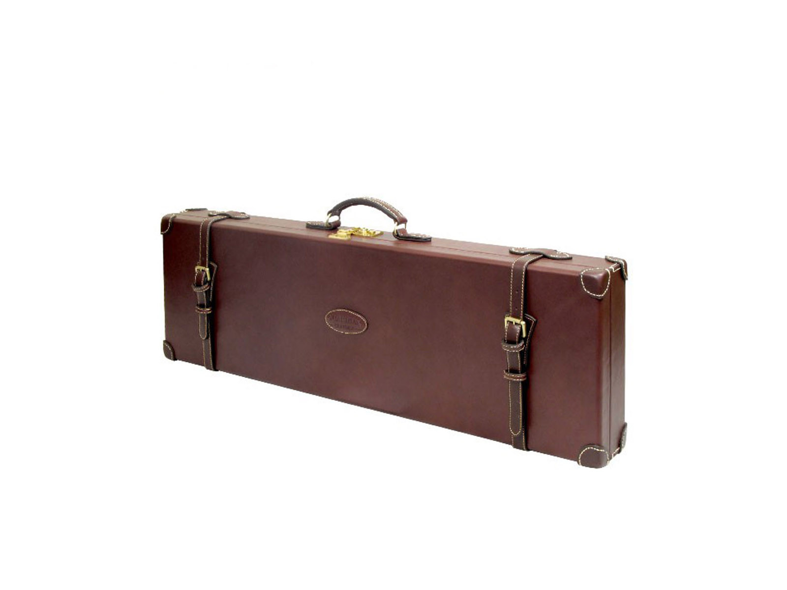 Guardian Chestnut Leather Single Motor Case O/U