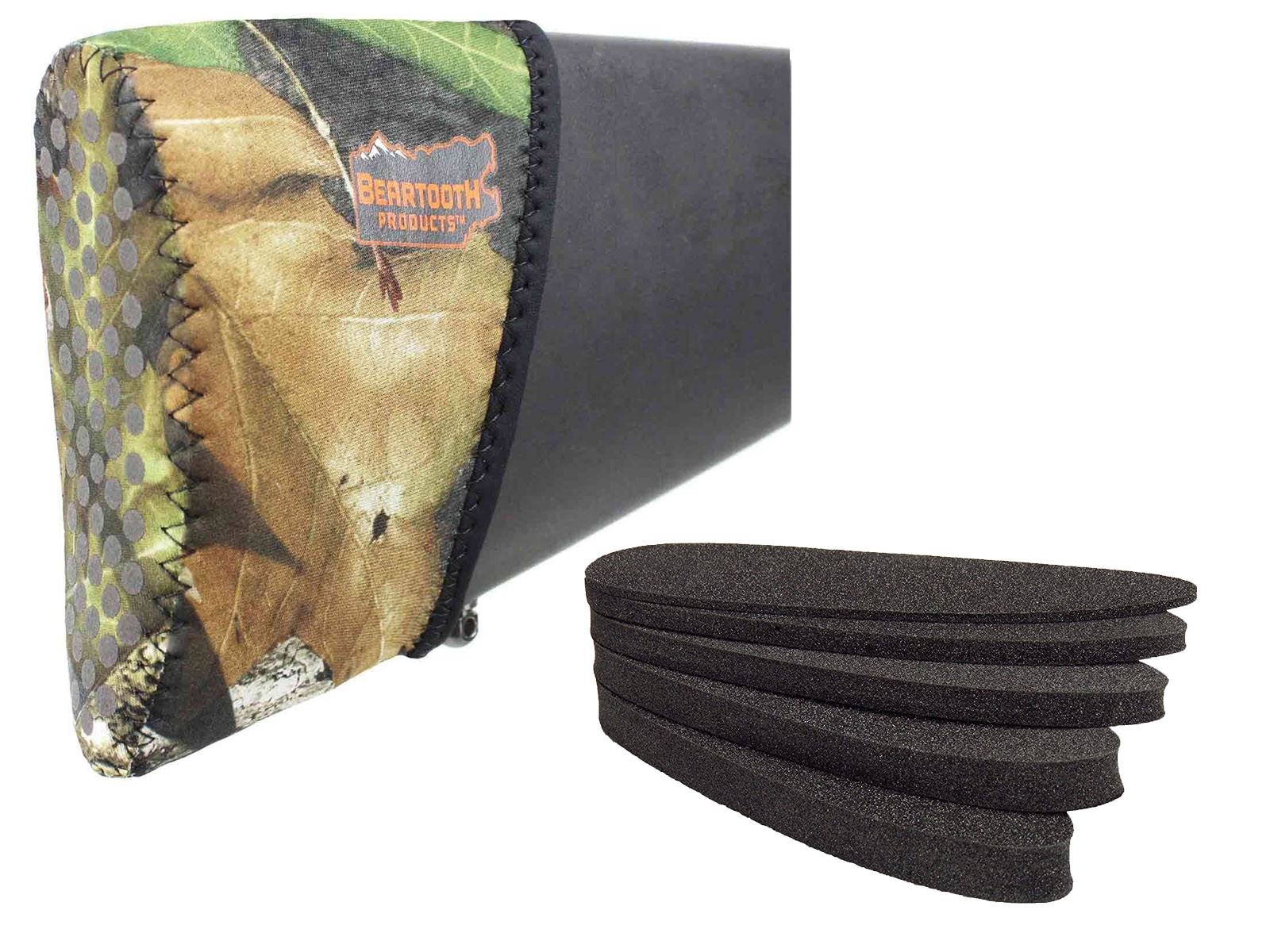 Beartooth Recoil Pad Kit - Mossy Oak Camo