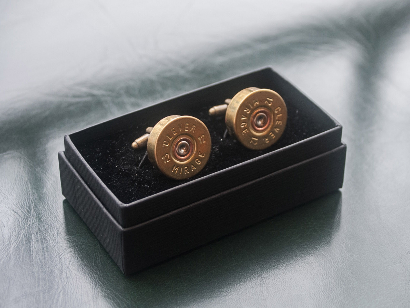 Jamie Boult - 12G Shotgun Cartridge Cufflinks