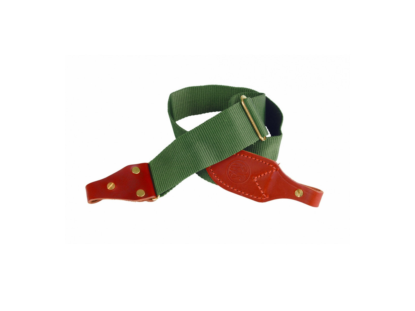 RWS Webbing and Leather Economy Sling - Green
