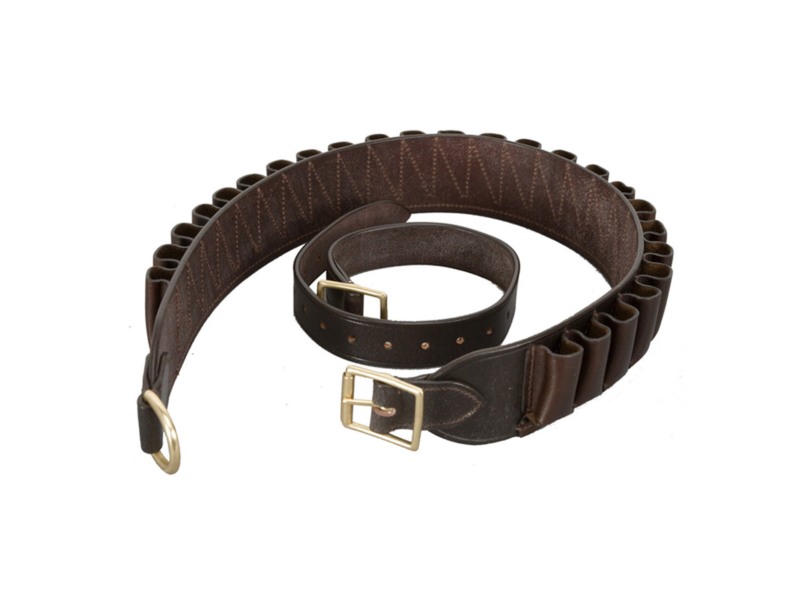 Chelsham Leather Closed 25 loop Cartridge Belt 12G