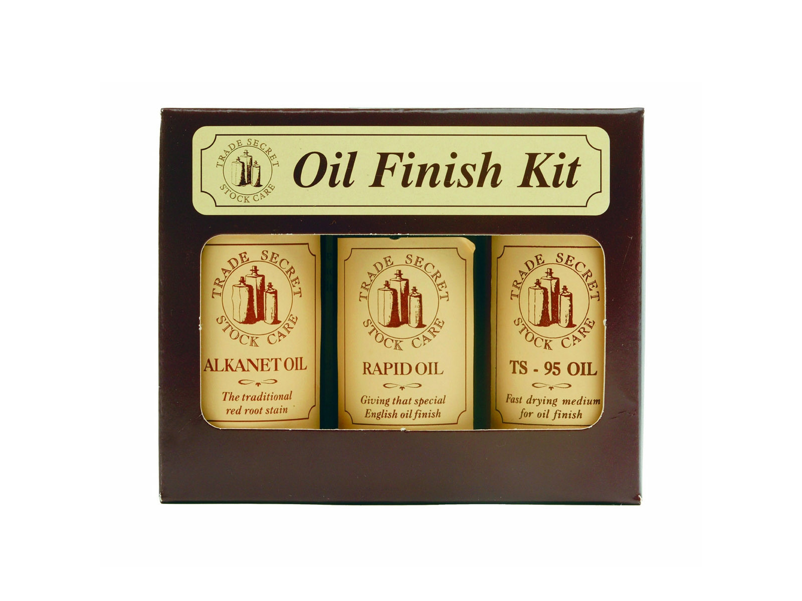Trade Secret Oil Finish Kit