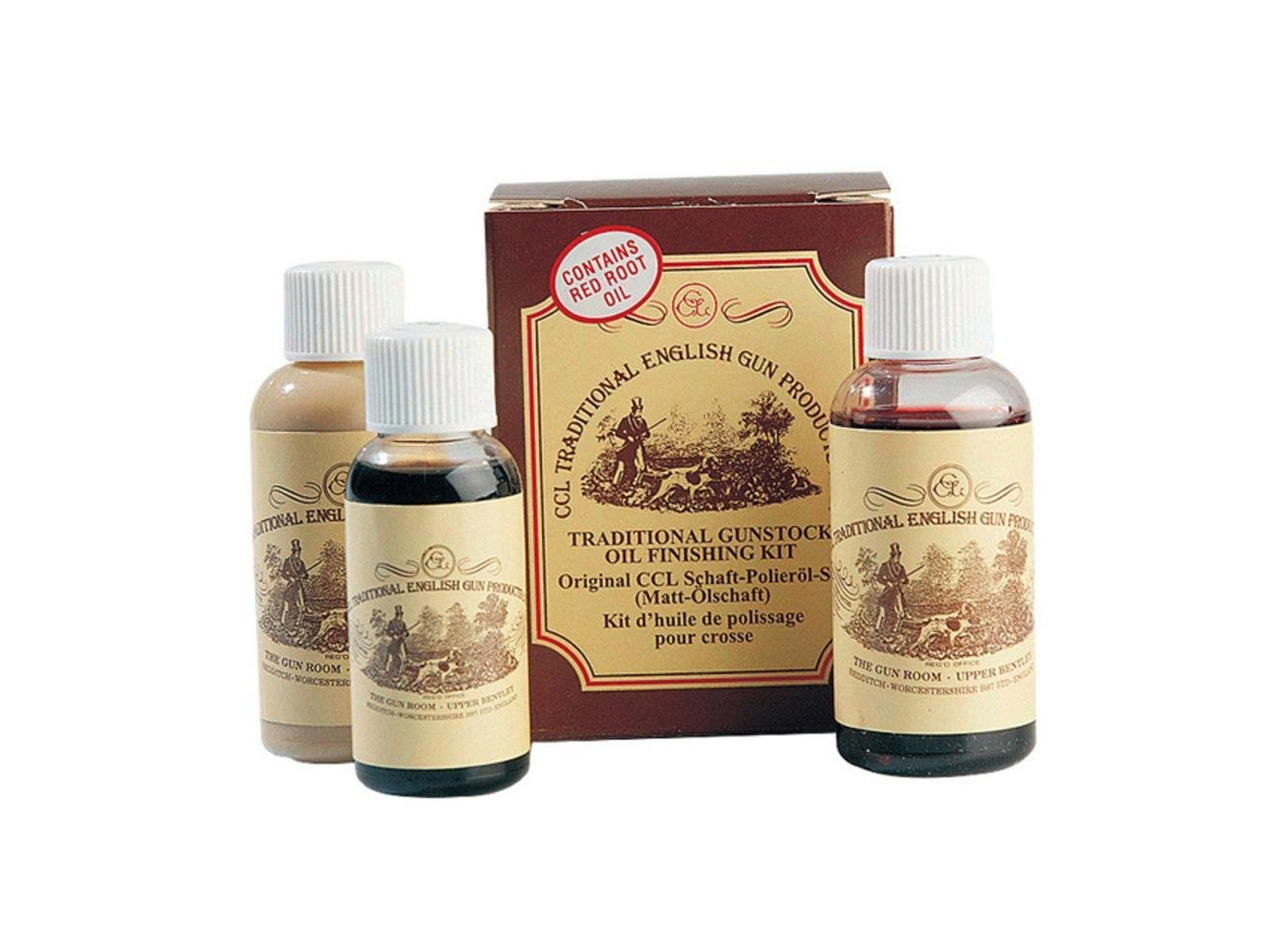 CCL Gunstock Oil Finishing Kit 50ml