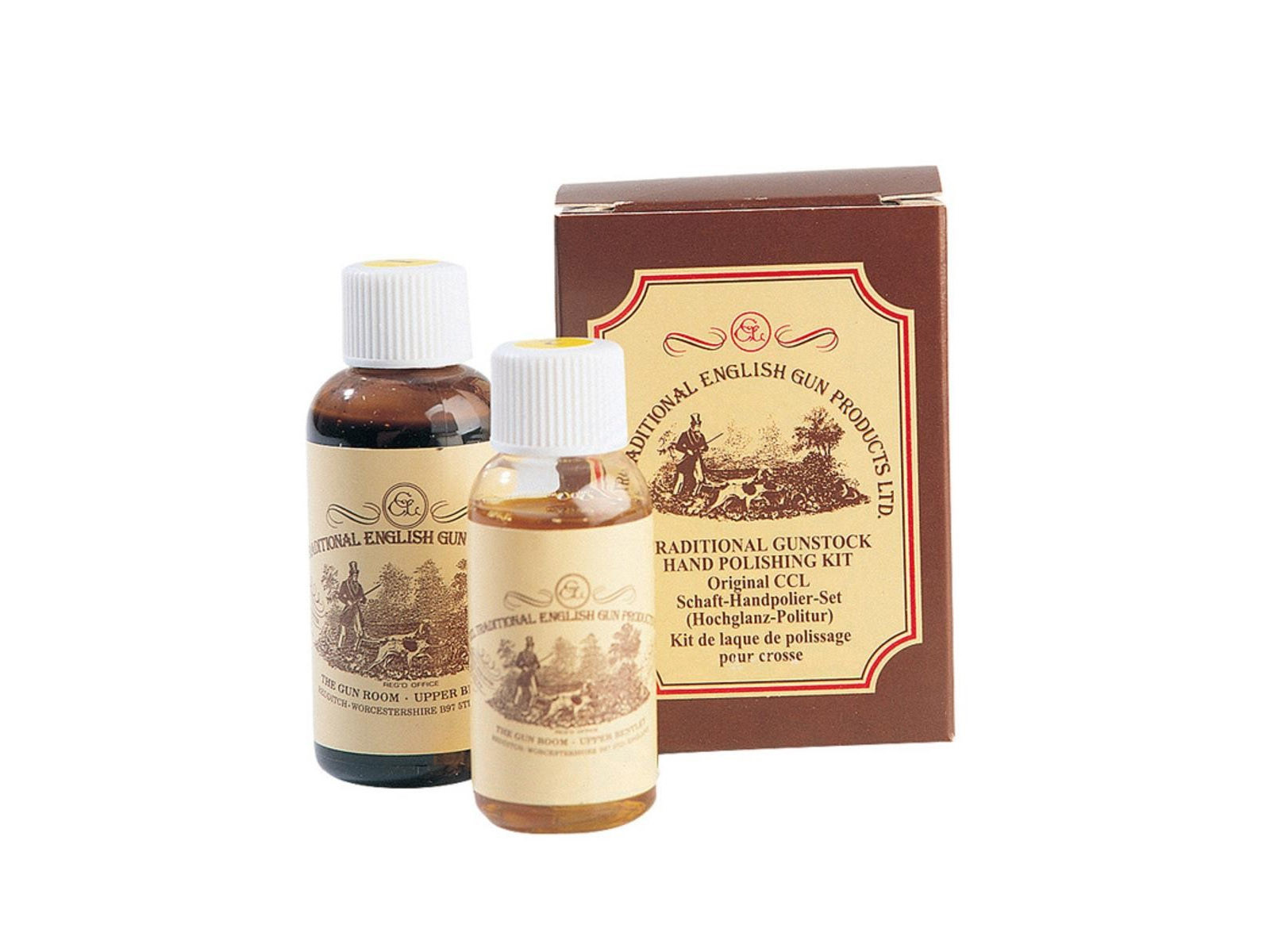 CCL Gunstock Traditional Hand Polishing Kit 50ml