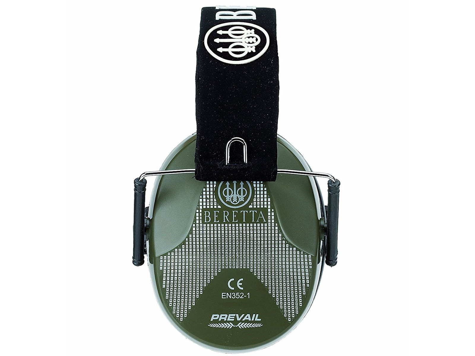 Beretta Prevail Folding Earmuff Green