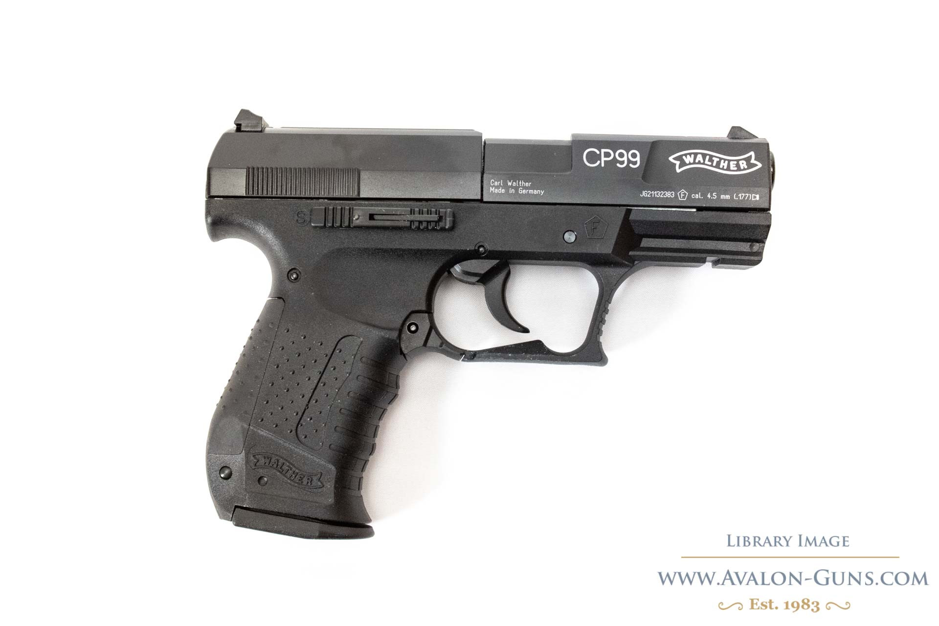 WALTHER CP99 BLACK .177