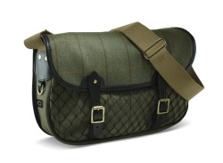 Croots Helmsley Tweed Netted Carryall