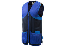 Beretta Full Cotton Shooting Vest - Blue