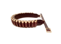 Chelsham Leather Closed 49 loop Cartridge Belt 20G