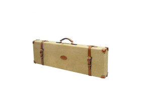 Guardian Heritage Canvas and Leather Shotgun Hard Case