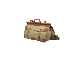 Guardian Heritage Canvas and Leather Small Travel Bag