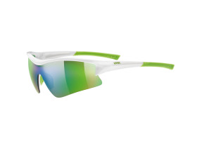 Uvex Sportstyle 103 - White and Green