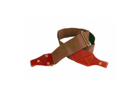 RWS Webbing and Leather Economy Sling - Brown