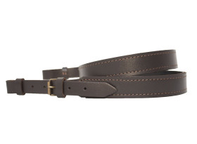 Lined Leather Rifle Sling - Plain