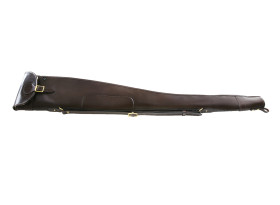 Croots Malton Bridle Leather Slip with Zip and Flap