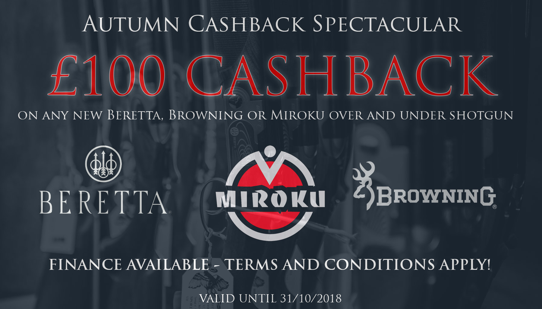 Autumn Cashback Deal