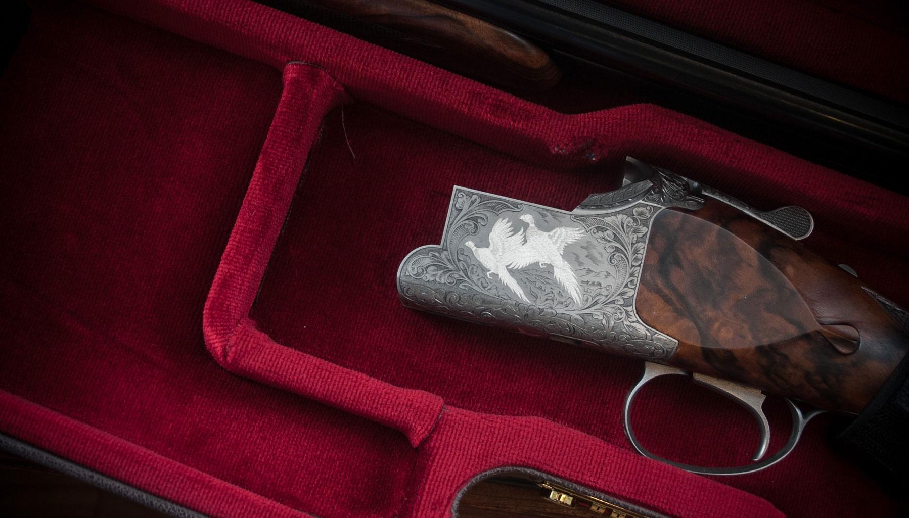 Browning B525 The Crown Shotgun