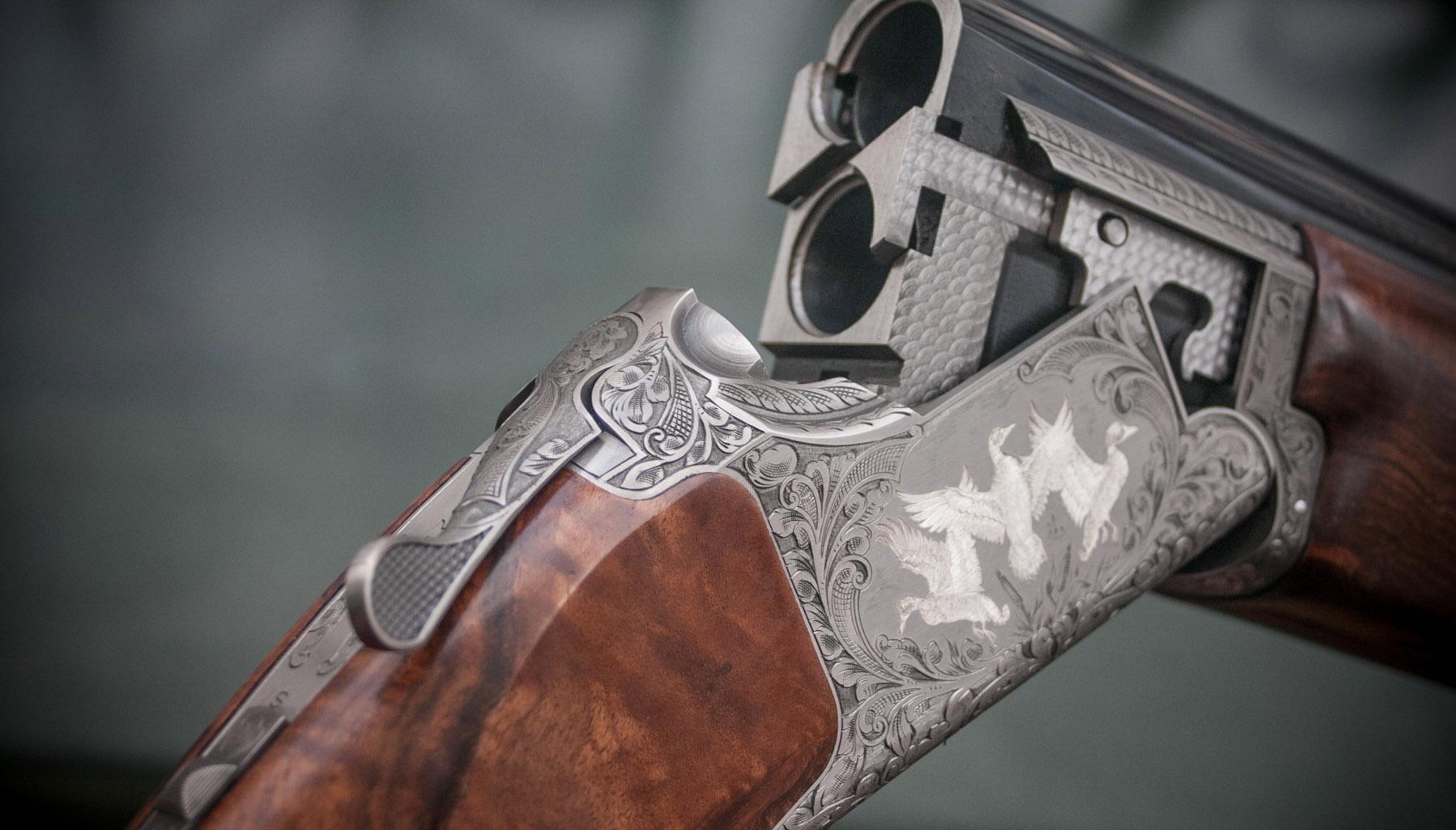 B525 The Crown Shotgun by Browning