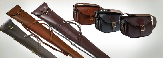 Croots Byland Leather Slips and Cartridge Bags