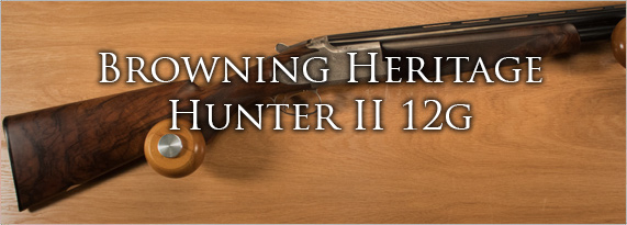 Browning Heritage Hunter 2