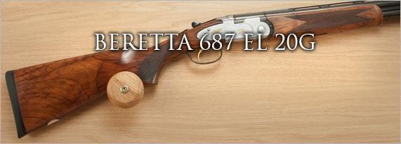 BERETTA 687 EL 12G - Shotgun