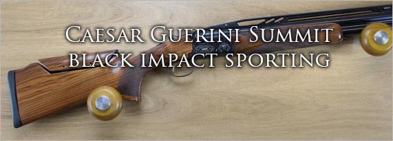 CAESAR GUERINI SUMMIT BLACK IMPACT SPORTING ADJ 12G