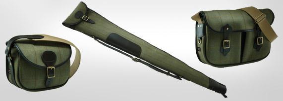 Helmsley Tweed Personalised Shooting Luggage