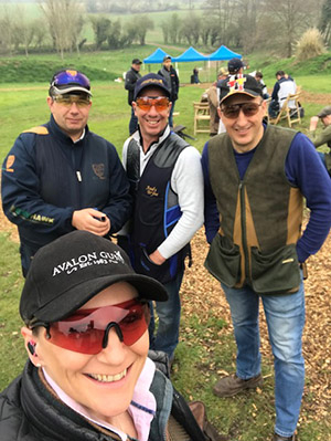 Karen Brown - Avalon Guns Brand Ambassador at the Essex Masters
