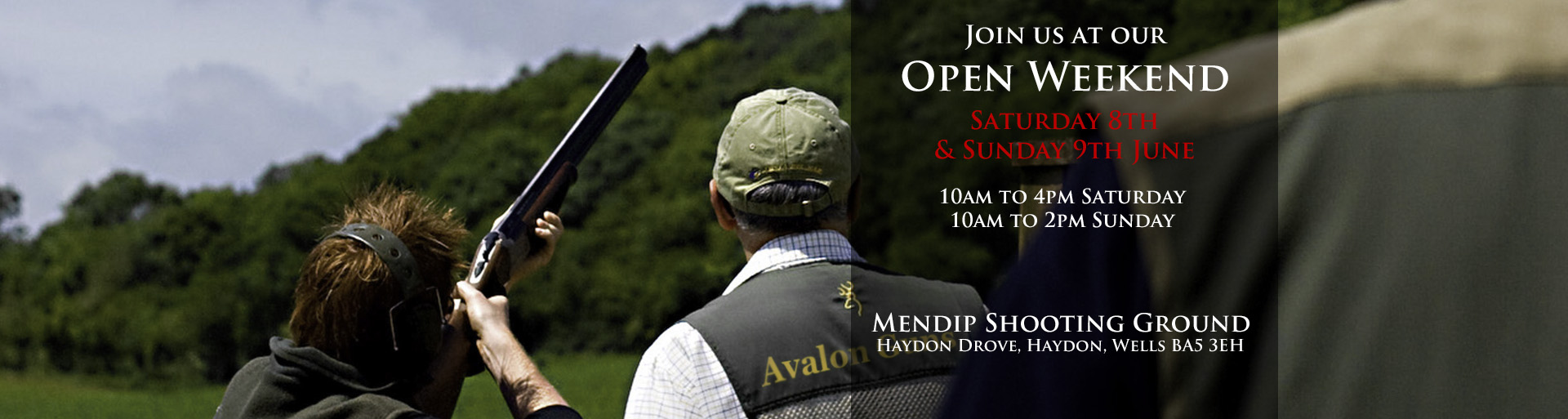 Avalon Guns Open Weekend 2019